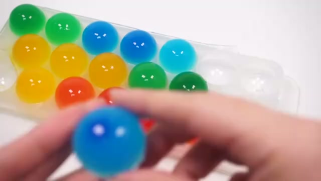 手工制作果冻布丁冰糖葫芦 宝宝泡泡糖洗澡学习颜色