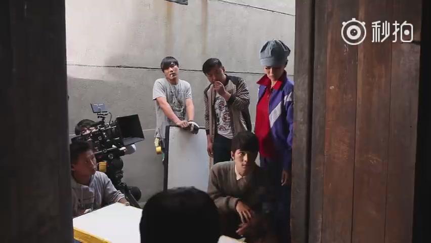 """花絮,陳學冬為安以軒發力大顯""""獅吼功""""!"""