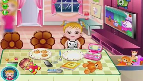 单人小游戏集锦:可爱宝贝用晚餐