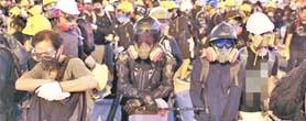 香港9万人怒吼: