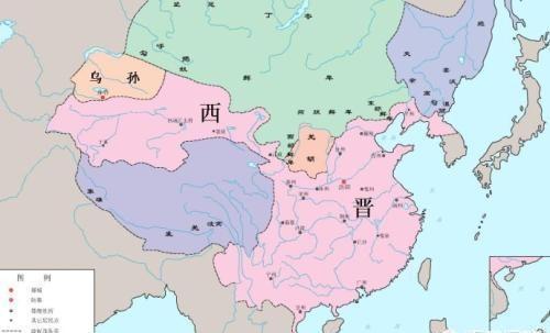 晋朝地图全图高清版