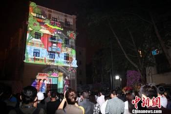 北京设计周大栅栏设计方案开幕灯光秀点亮劝家具宿舍一体化设计社区