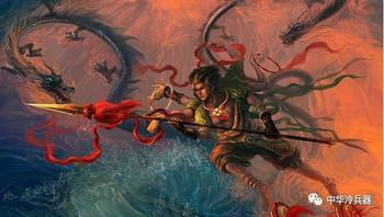在印度教的神话体系中,轮刃也是天神毗湿奴的武器,而且毗湿奴的形象