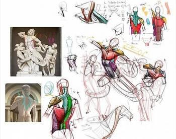 游戏概念设计师会画出几版甚至几十版原稿