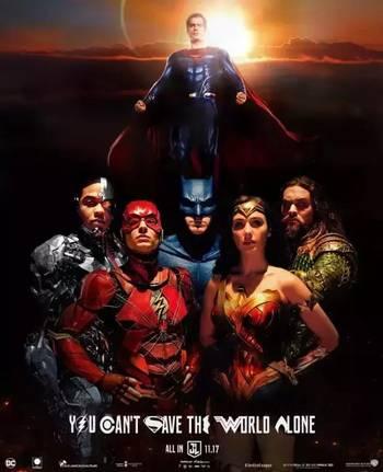 无论是《正义联盟》的预告海报,还是正式海报,超人都未露脸,难道这次