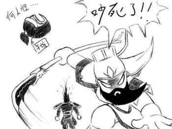动漫 简笔画 卡通 漫画 手绘 头像 线稿 350_262
