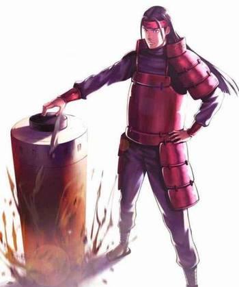 二代火影霸_二代火影喜欢穿他那身蓝黑盔甲作战: 三代火影喜欢穿他那身全黑盔甲