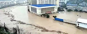 陕西特大暴雨致水库决堤