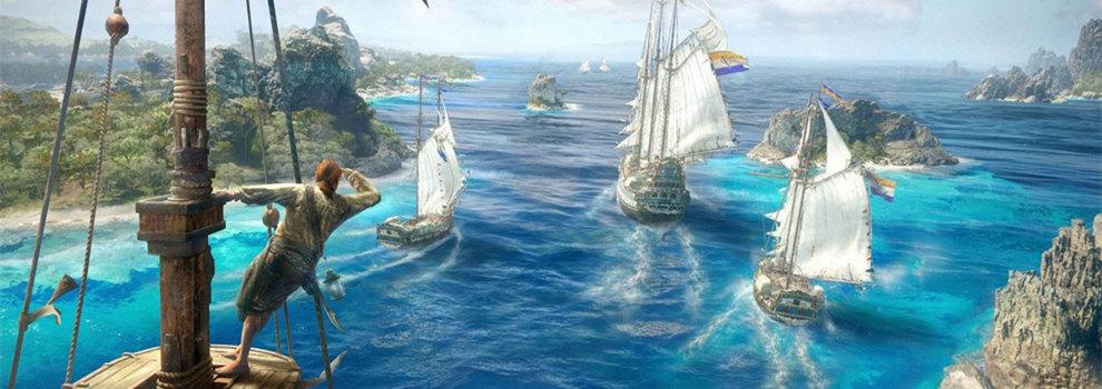 育碧新作《骷髅与骸骨》,主打线上5V5海上作战