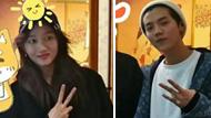 鹿晗关晓彤约会首次曝光 一同吃烤肉甜甜蜜蜜