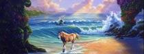 据说这个图里有7匹马,你能看到几匹?