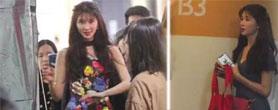 44岁林志玲参加同学聚会 看起来像两代人