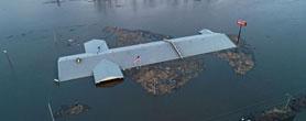 美国空军基地被淹