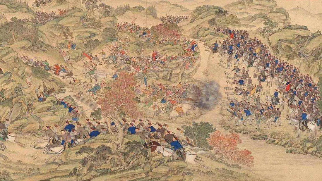 萨尔浒之战明军败于分兵,古战争分进合击的正确方式是什么?