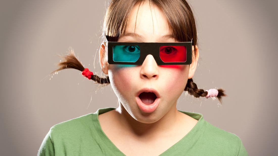 爱看3D大片,但是你想过3D眼镜可能会有危害么?