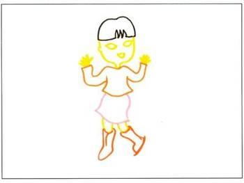 兒童創意彩筆畫:我喜歡的游戲,狼與七只小羊,畫畫聽過的故事